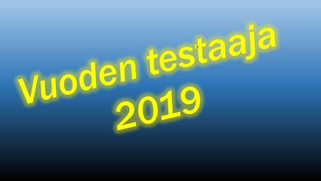 Vuoden testaaja 2019 -kuvituskuva