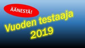 Äänestä vuoden testaajaa 2019