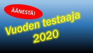 Äänesta Vuoden testaajaa 2020